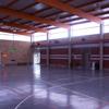 Interior del pabellón deportivo