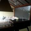 Interior porche - barbacoa