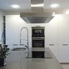 Isla y armarios de frio y hornos