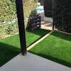 Jardin de cesped artificial