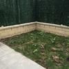 Jardín antes de la instalación