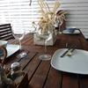 Jardín mesa