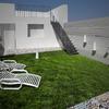 Jardín renderización.