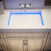 Lavabo con led integrado