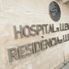 Letrero hospital y residencia