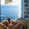Librería con vistas en salon