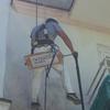 Limpieza de paramentos con agua a presión