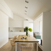 Mesa de cocina y banco de DM