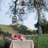 mesa de comedor con flores