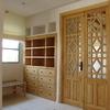 Mobiliario y puertas de madera