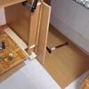 Modificación de los módulos para instalar un lavavajillas