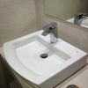 Mueble de obra con lavabo de sobre encimera