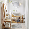 muebles de baño de bambú de IKEA