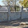 Muro revestido de piedra natural