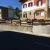 Montaje de muro perimetral
