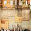 Tríptico alzado cubierta alzado tras la demolición