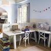 habitación con zona de estudio