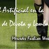 Nuestro Césped Artificial en la Pasarela de Madrid Fashion Week con el diseñador Devota y Lomba