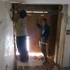 Obras en acceso vivienda