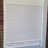 Colocar 3 ventanas de aluminio con persiana lacado blanco