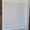 Instalar puerta terraza con persiana pvc blanco