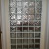 pared de bloques de vidrio