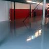 pavimento con primera capa de resinas epoxis