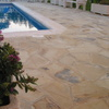 Pavimento Solnhofen, zona de piscina
