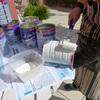 Pintar los potes