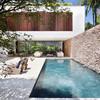 Reformar pared de piedra en jardin y alisar paredes de un salon