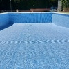 piscina reparada antes del llenado