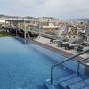 piscina transparente