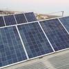 Placas solares para nave-vivienda
