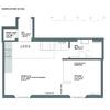 La planta de la vivienda antes de la reforma
