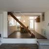 Planta baixa amb la cuina integrada menjador i sala d'estar