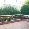 Proceso demolición antigua jardinera