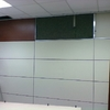 Divisiones de oficina con paneles de aluminino crista