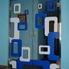 Puertas abatible en vidrio