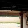 Puerta de garage imitación madera
