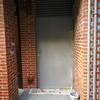 Puerta de garaje también con imprimación no esta acabado