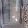 Puerta de tres hojas plegables realizadas en hierro