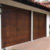 puerta graje fiberglass
