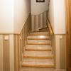 Rayas en tiro de escalera