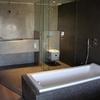 L hueco de la bañera es 1,73 x 68