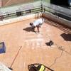 Cubrir porche con material impermeable y económico