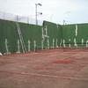 rehahabilitacion y pintura pista de tenis