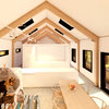 render 3d interior vivienda