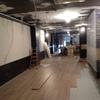 Reparación de falso techo y apertura de nuevos agujeros para instalaciones