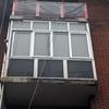 Reparación de repisa de balcón y fachada