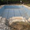 Reparación piscina obra